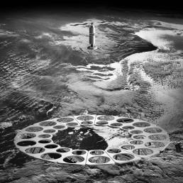 orbital spy - outer space (Michael Najjar, Germany)