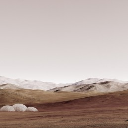 sands of mars - outer space (Michael Najjar, Germany)