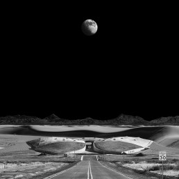 spaceport - outer space (Michael Najjar, Germany)